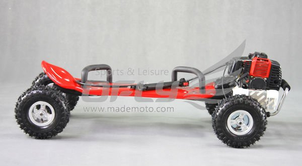 China made CE Approved gas motorized skateboard