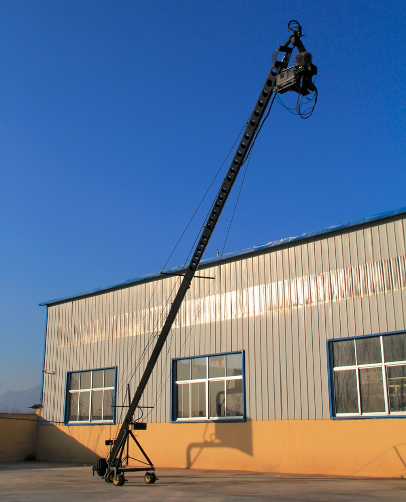 Professional 12 meter Jimmy Jib camera crane for sale