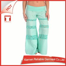 Custom Fitness/Skin tight knit OEM/ODM wholesale Women Spandex/polyester Sapce Dyed Capri Yoga Pant sleepwear manufacturer