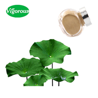 Free samples lotus leaf extract/lotus leaf extract powder/lotus leaf extract nuciferine