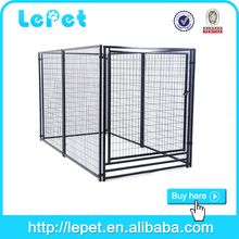 large chain link stainless steel animal cages