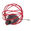 Assortment Plush Mice in a Wire Ball Cat Toys Balls