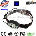 Super Bright CREE XPE with 2 LED 3W 180 Lumens fishing headlamp