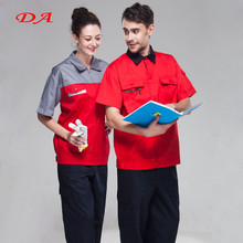 65%polyester 35% cotton short sleeve worker uniform