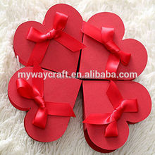 Red Heart Paper a Large Desire Sweets Gift Box Wedding Favor Boxes
