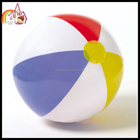 Hot selling clear pvc inflatable giant beach ball for sport games