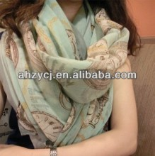 Hot fashion lady scarf Korean long scarves shawls