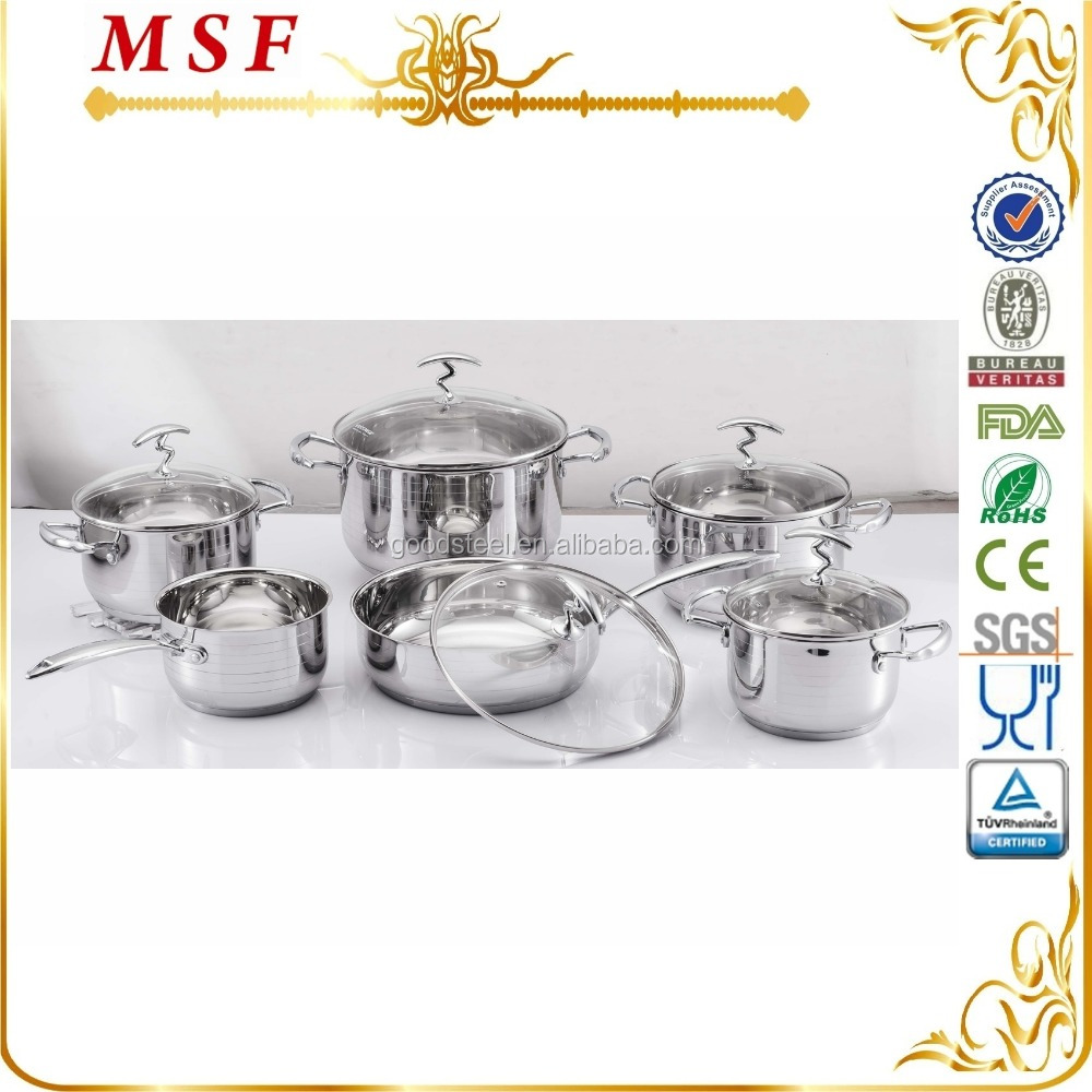 Uncategorized Chinese Kitchen Appliances kitchen appliances products manufacturers msf chinese manufacturer12pcs stainless steel cookware set 3825