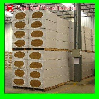 Rockwool wall insulation rock wool water proof rock wool for Moisture resistant insulation