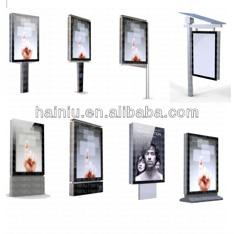 Outdoor scrolling signs light boxaluminum buy scroll for Exterior light boxes