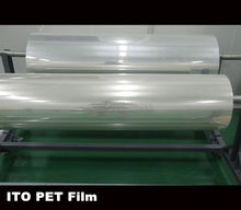 transparent ito film coating for electromagnetic wave for shielding materials