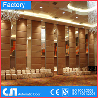Automatic Operable Commercial Partition Wall