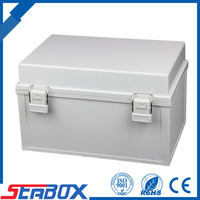 High Quality CE Approval Electirc Waterproof Hinged Plastic Box, IP65 Plastic Waterproof Junction box, pushbutton switch box