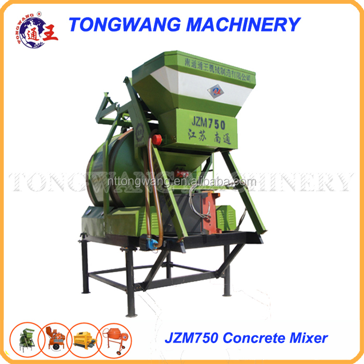 JZM750 auto concrete mixer for sale