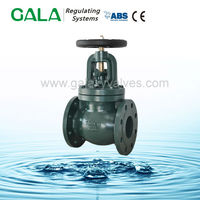 high pressure os&y flange steam globe valve drawing