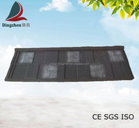 Shingle Type stone coated steel roofing tile