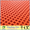 anti slip hard-wearing PP outdoor interlocking flooring