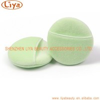 Wholesale round Facial makeup cotton Cosmetic Powder puff