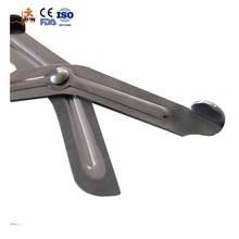 Customized surgical dressing scissor instrument parts of forceps