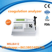 China Blood Coagulation analyzer/coagulation analyzer machine from coagulation analyzer distributor MSLBA12H