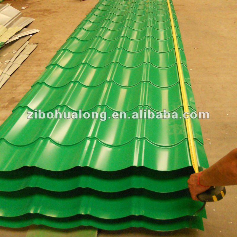 decorative metal roofs for construction villa real estate