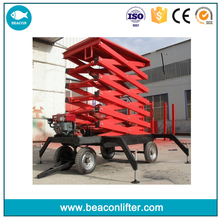 jinan made towable electric lift bed used for lifting goods