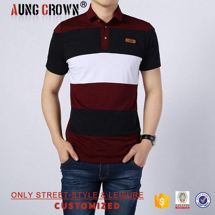 Hot Sale Causal Oem High Quality Polo Shirts Fashion Mens Garment