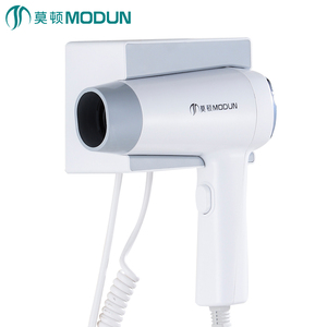 wenzhou top quality salon hair blow 2 speed wall mount hotel hair dryer