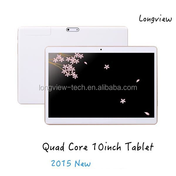 "10"" phablet android quad core 3G tablet pc 10inch 1G/16G MTK6582 front/rear camera"