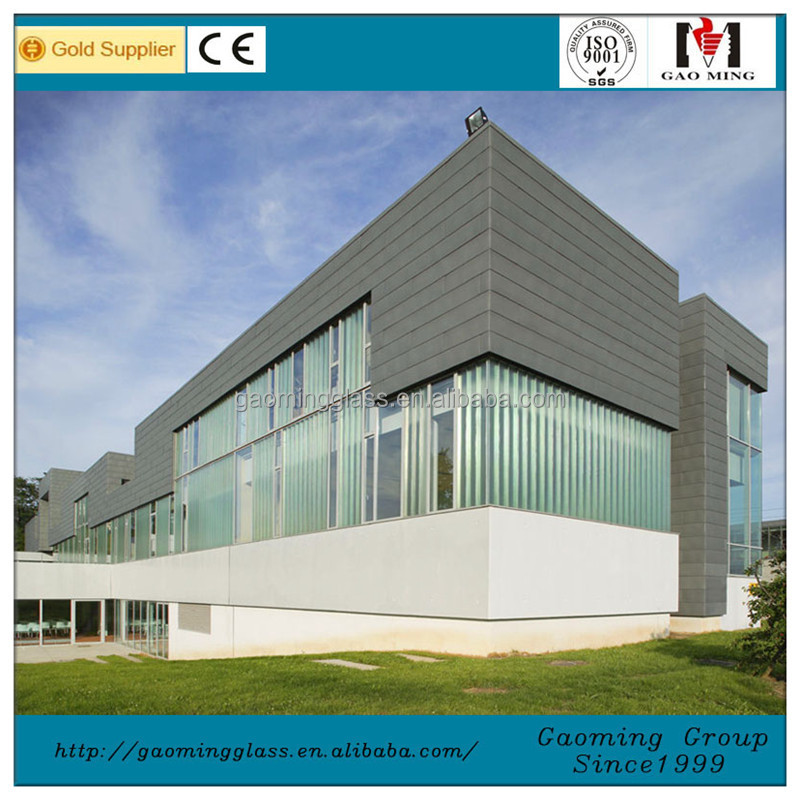 Price of U Profile Glass U-channel Glass 658