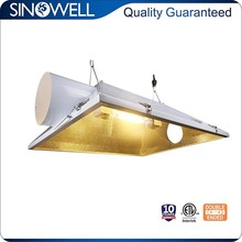 China Honest Supplier Air Cooled Double Ended Aluminium Hydroponic Grow Light Reflector for HPS Lamp