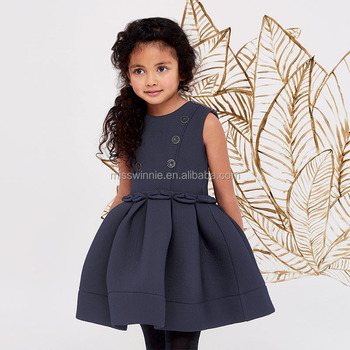 2018 new arrive fashion baby girl party dress