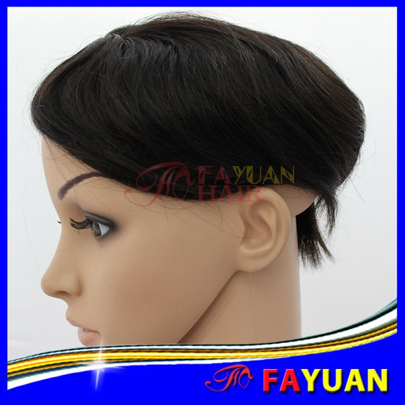 Top selling Fayuan hair new coming natural color toupees for black men