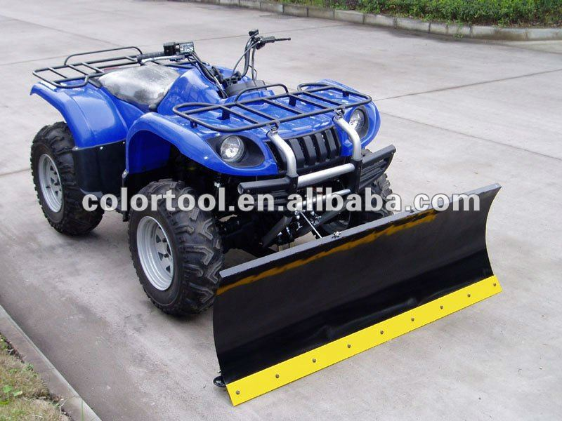 Snow plow-atv and utv use snow plow blade