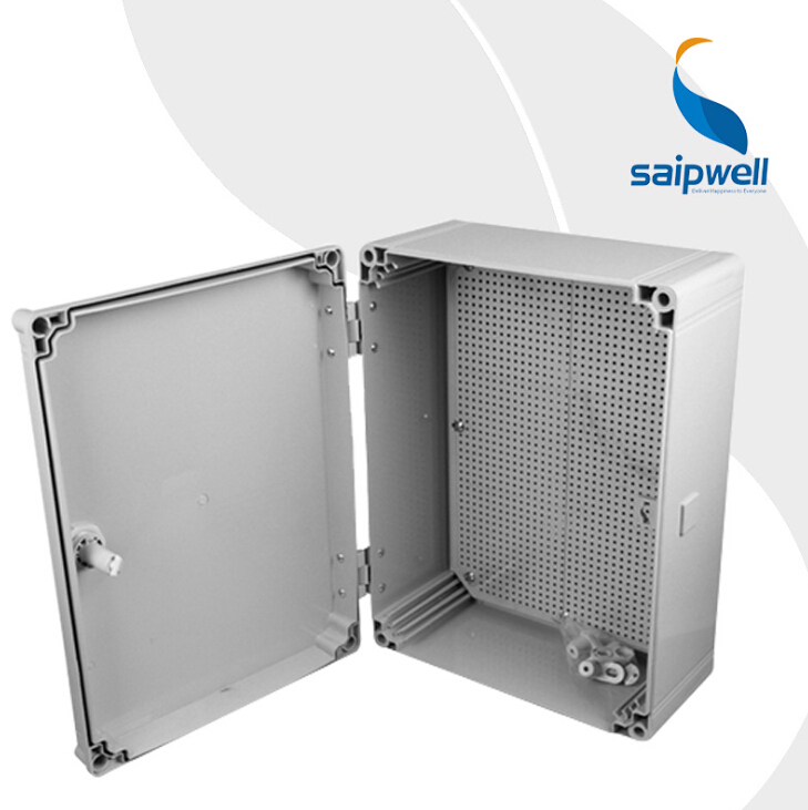 SAIP/SAIPWELL High Quality 500*400*190mm Waterproof PC Plastic Electrical Panel Box
