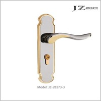 JZ-28173-3 Contemporary and contracted Europe type zinc/ alu Mortise door lock with bearing lock