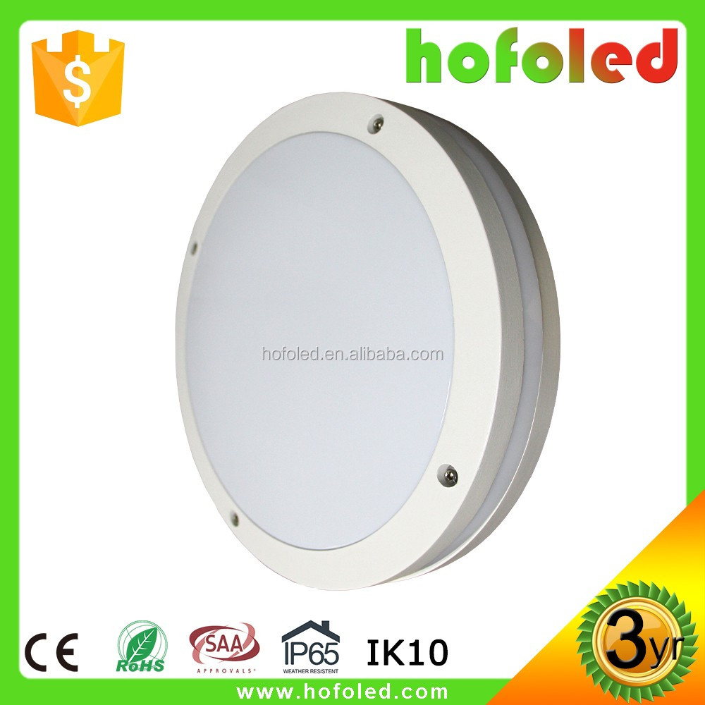 waterproof IP65 motion sensor 20W height adjustable ceiling light
