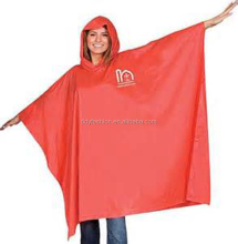 Wholesale Plastic Ladies PVC Fashion Poncho Print Rain Poncho
