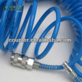 PU air hose with universal quick coupler for pneumatic industry