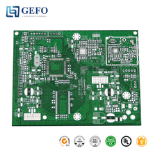 Immersion Gold Silver HASL Lead Free Finishing LED Control, Round Aluminum LED PCB