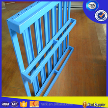 Single face steel pallet racking pallet wholesale 2016