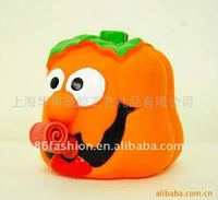 Halloween pumpkin, plastic halloween pumpkin, promotion gift