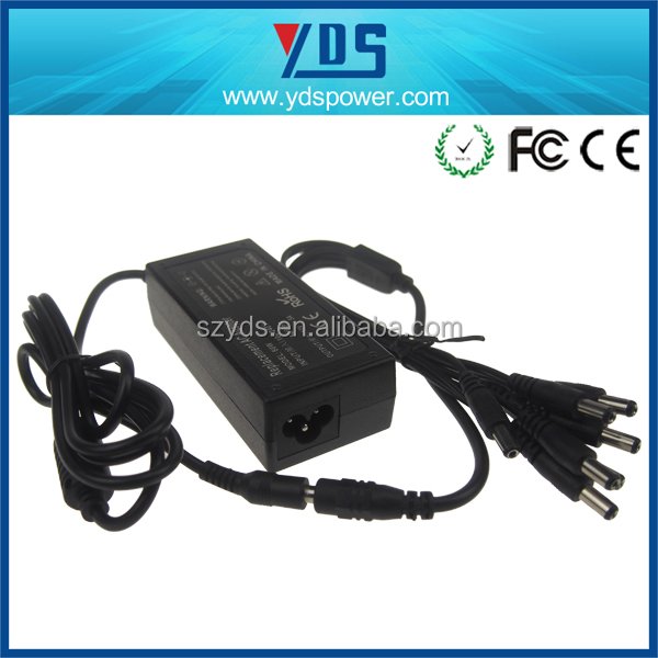 good quality network adapter 60W 12V 5A switching ac dc power supply