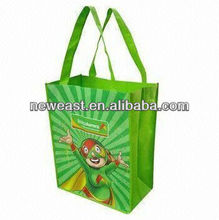 BY-002 cangnan Boyu daily-used pp non woven wholesale resuable laminated non woven pet shopping trolley bag