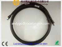 "rf 1/2"" sf cable assembly with din male straight and n female soldering connectors XiXia Communications"