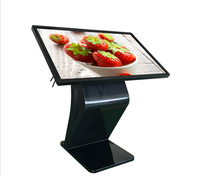 Digital Signage Interactive Advertising Kiosk 55