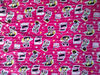100%cotton printed flannel stock fabric