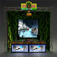 High experienced shooting arcade game machine for adults