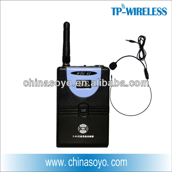 RF headset wireless microphones solutions classroom audio system