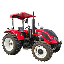 High quality 100 hp agriculture machineries 4wd diesel engine transporter tractor